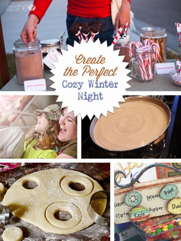Turn winter into an excuse for a fun, cozy night at home. Host a hot chocolate bar with family and friends, featuring cookies, cinnamon sticks, whipped cream, marshmallows, chocolate dipped marshmallows, and more. Declare a game night and pull out the board games and cards. Create your own game by putting questions into a jar and taking turns picking one out to answer. Test out a recipe you've been craving. Read on for more great indoor winter activities from eBay.