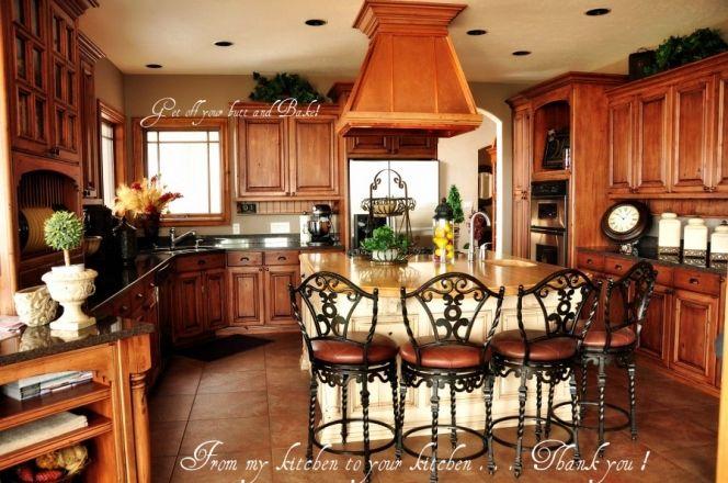 Kitchen Conversations  Butterflake Orange Rolls Bar stool