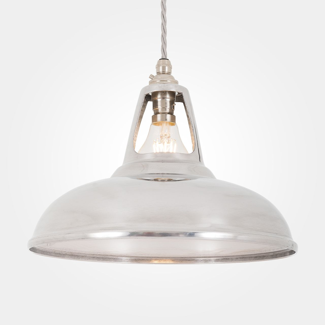 Coolicon industrial aluminium pendant light artifact lighting