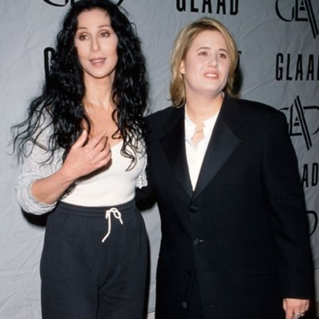 chastity bono with her mother cher cher pinterest