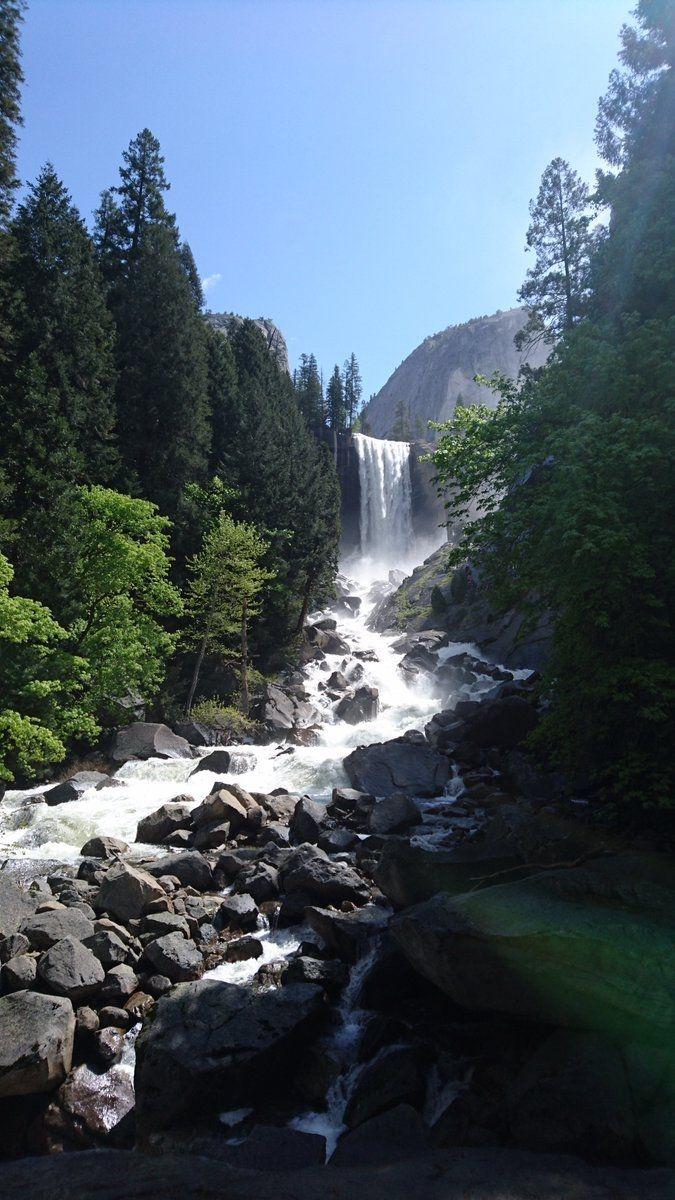Yosemite valley  #belleza #cascadas