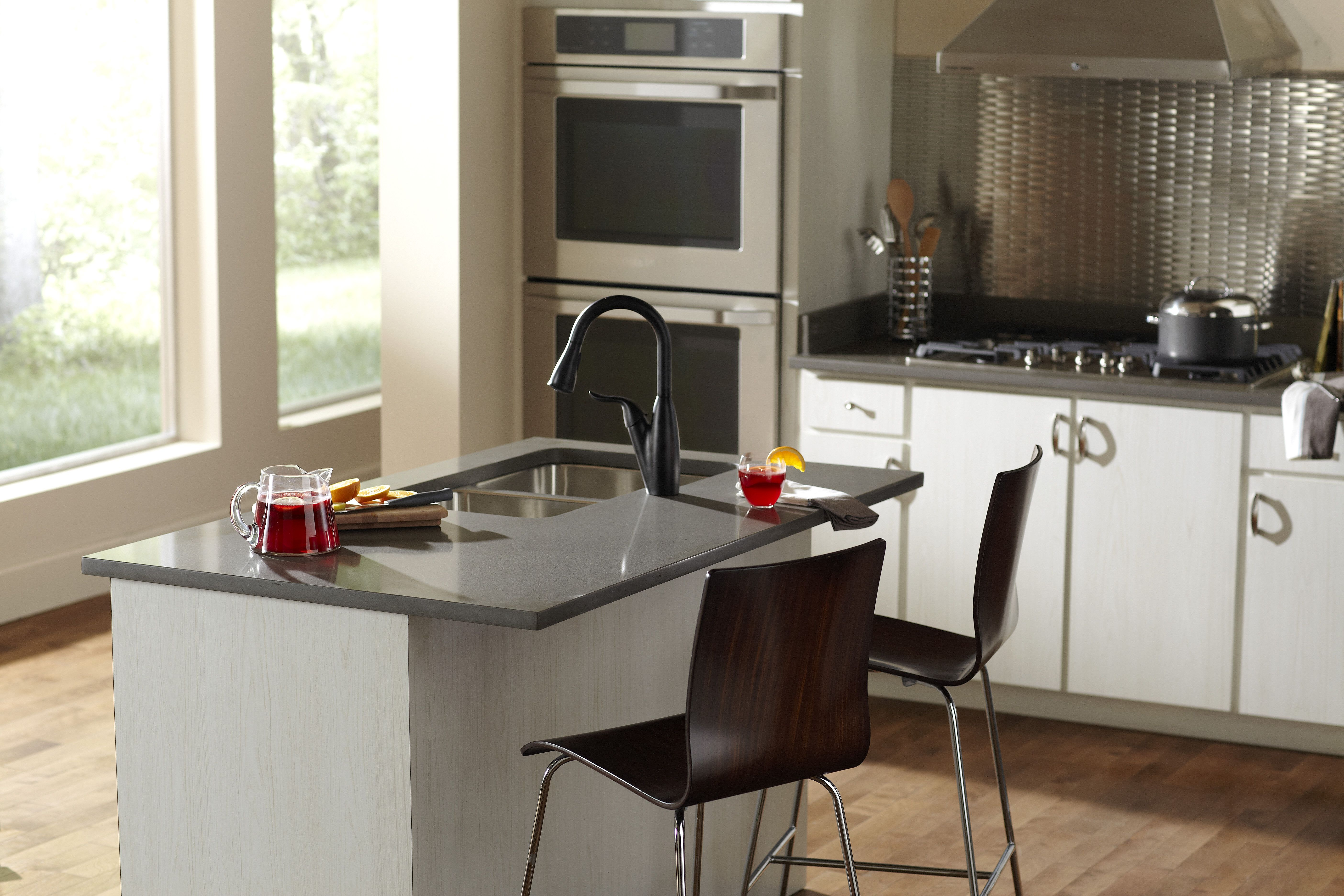 Silestone ALTAIR  Kitchen Silestone by Cosentino  Kitchen countertops Kitchen remodel y Kitchen