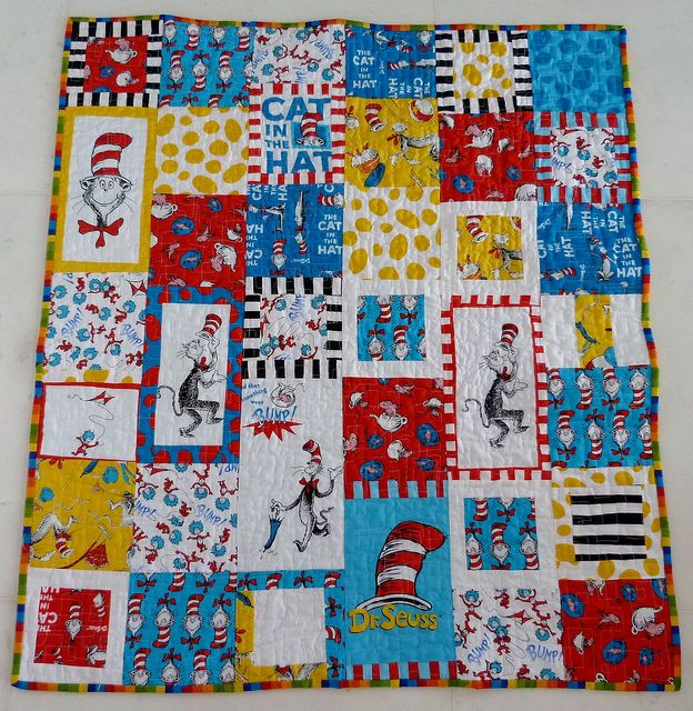 leftover seuss quilts sewing