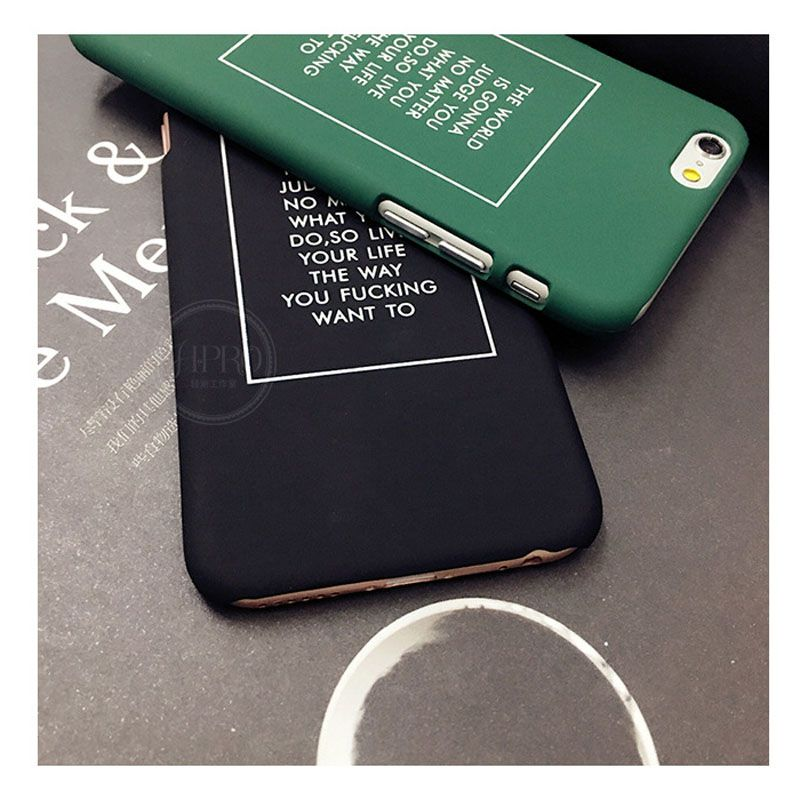 cover letter for telecommunications%0A Hot Fashion Concise Letter Spots Personality Coque Fundas Matte Hard Capa  Phone Cover Case Cover For