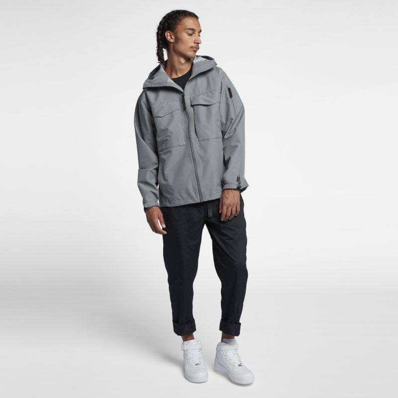 7dec35d407 NikeLab Collection Wet Reveal Men's Jacket | Products | Gray jacket ...