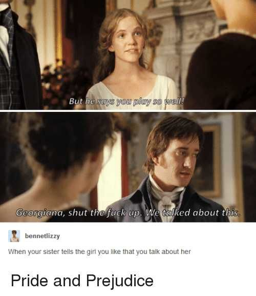 Apparently Pride and Prejudice memes exist! #prideandprejudice