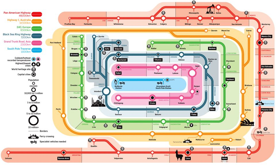E Subway Map.Super Highways Infographic Map By Christian Tate Rather Lovely