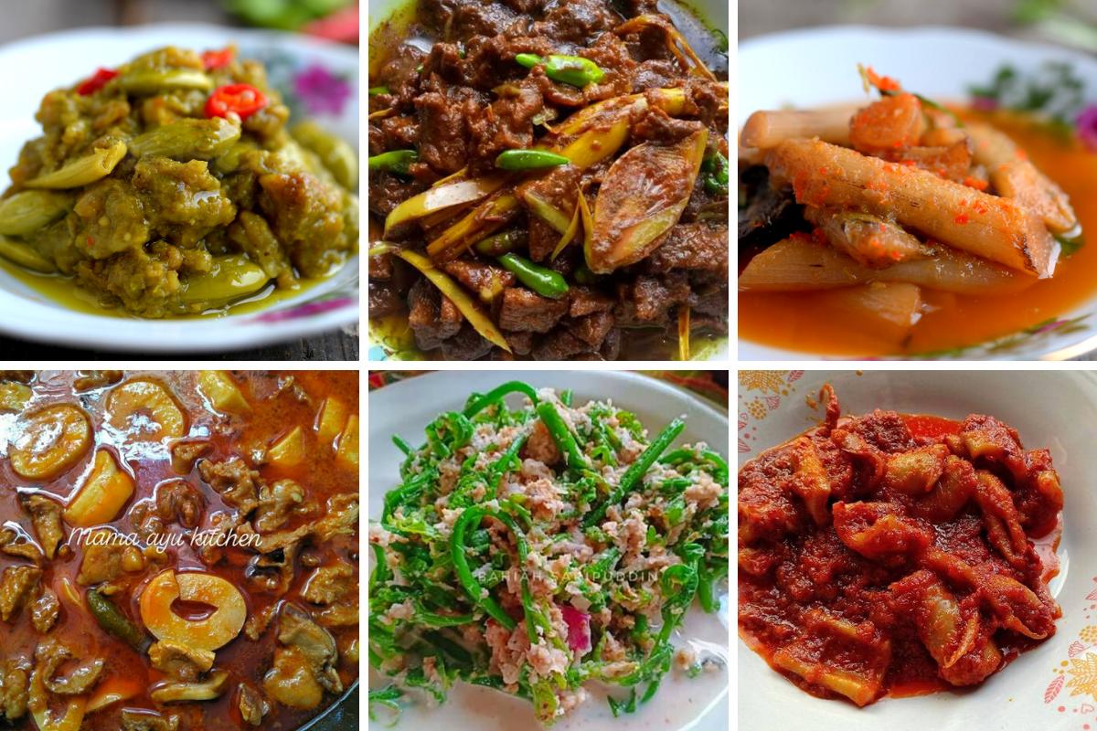 Sangat Sedap 30 Menu Harian Masakan Kampung Kena Cuba Rasa Food Recipes Food Design