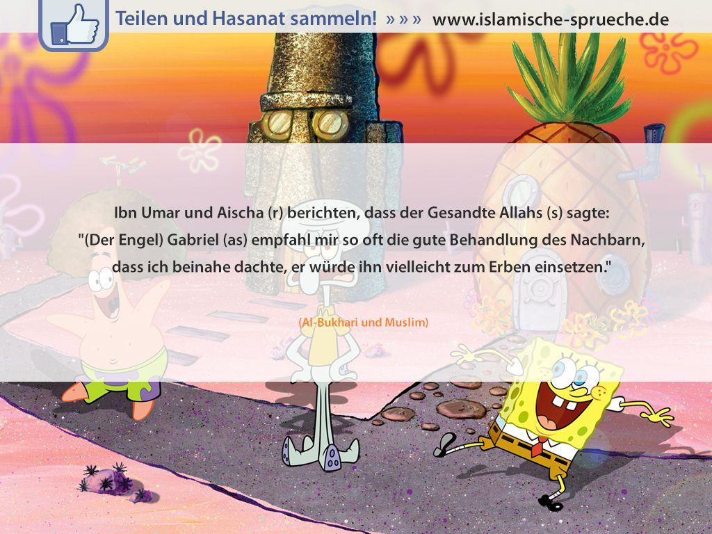 Nachbarschaft Http://islamische Sprueche.de/hadith Zitate/nachbarschaft