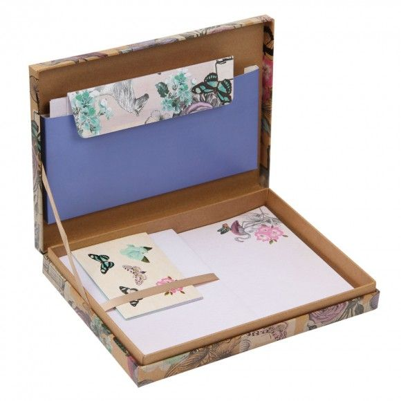 Vintage Flamingo Boxed Writing Set Writing Accessories Stationery Lover Happy Mail Inspiration