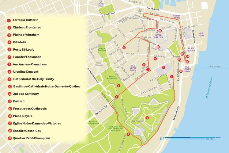 A Walking Tour Of Quebec City Walking Tour Eastern Canada
