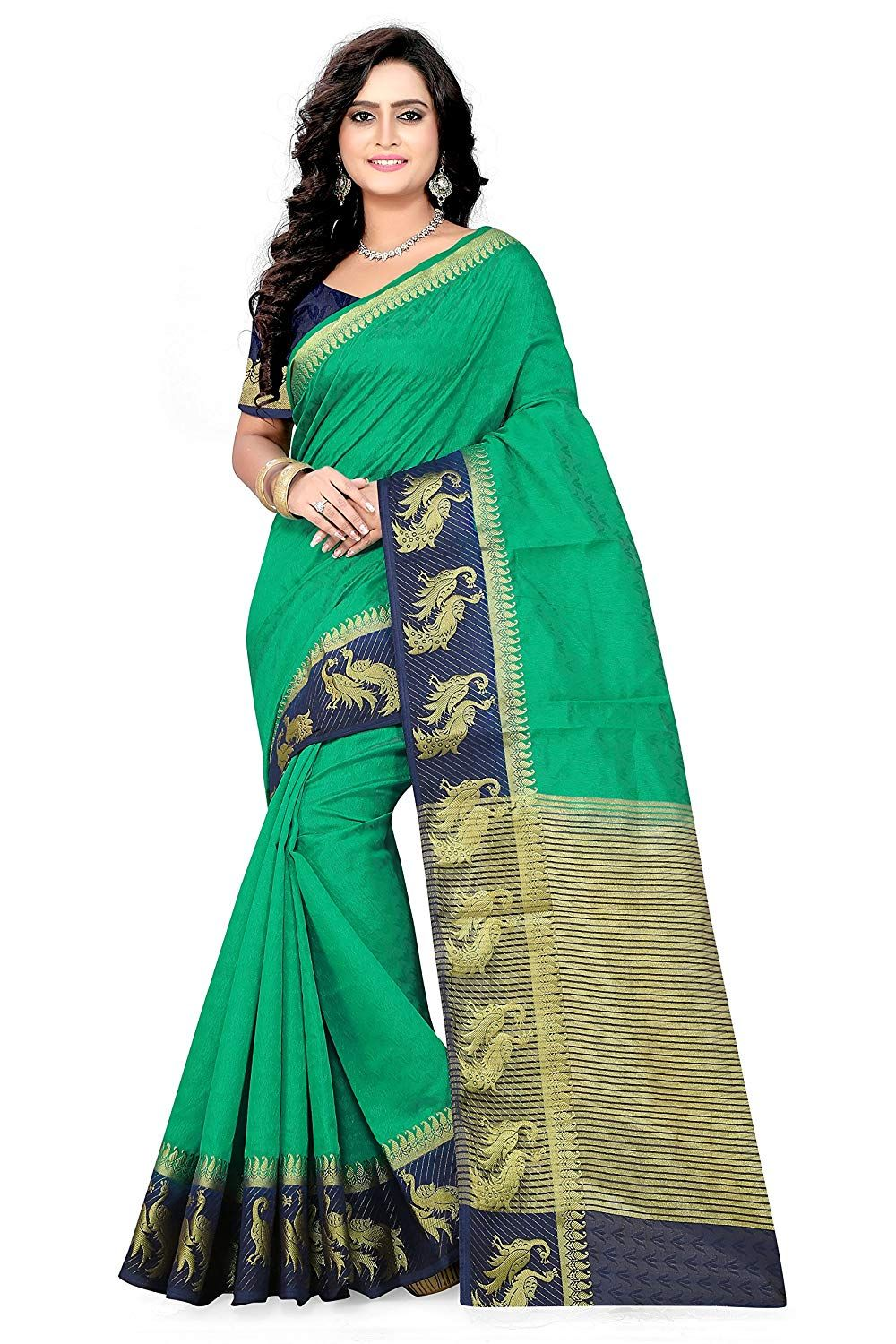 cb52c5bbd715ba Designer Saree With Blouse Piece | Only on trendyecomshop.shopwithme.in |  Best Saree