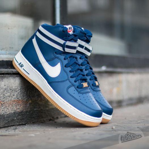 Nike Air Force 1 High ´07 Castle Blue  Gum Light Brown- Wolf Grey za  skvělou cenu 2 390 Kč najdete jen na Footshop.cz! 354411ff9