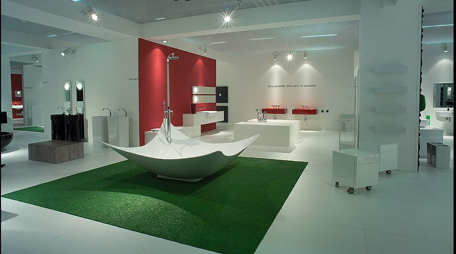 Incredibly Modern Incredibly Awesome Large Bathroom Design
