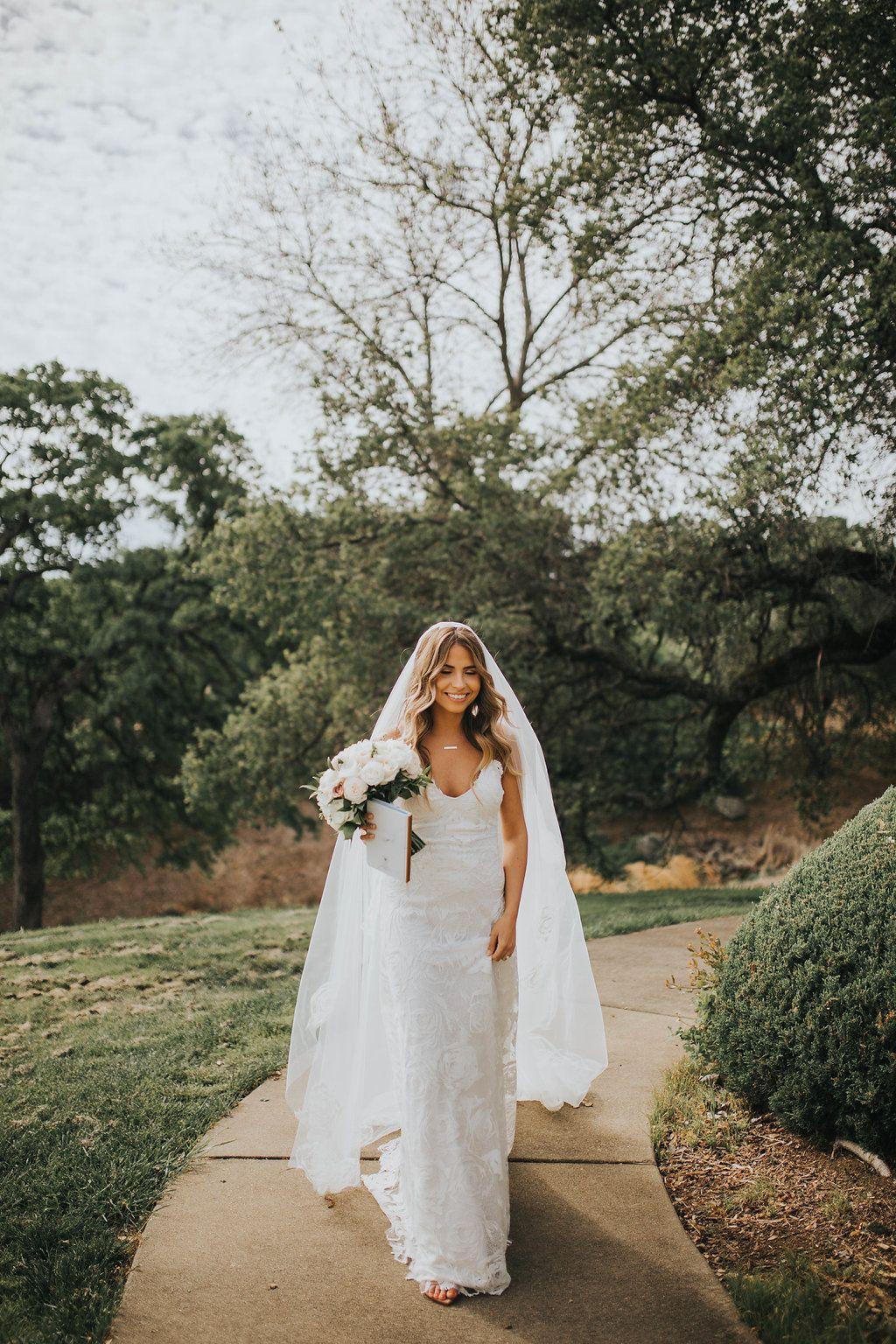 Fleur wedding dress  Oksana in the Rosa Gown u Fleur Veil  Wedding dress and beauty