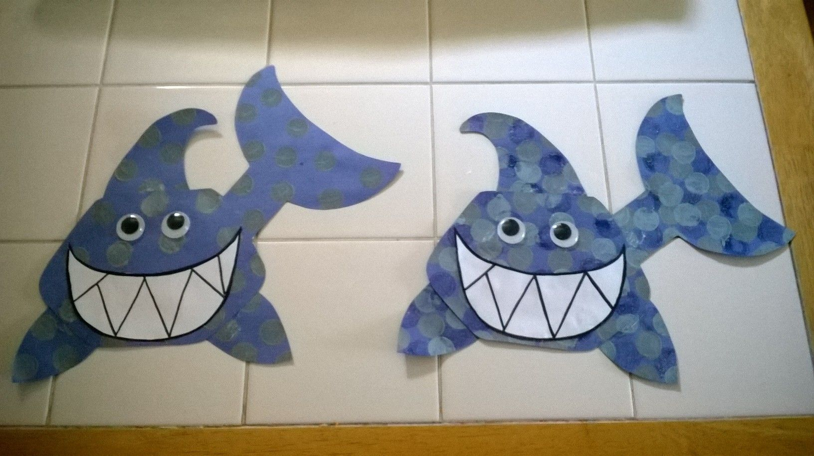 Shark Week Craft For Kids Made This Cute Shark Craft