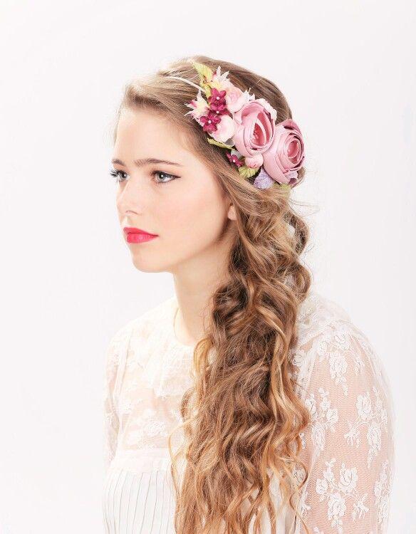 Bridal Flower Hair Crown