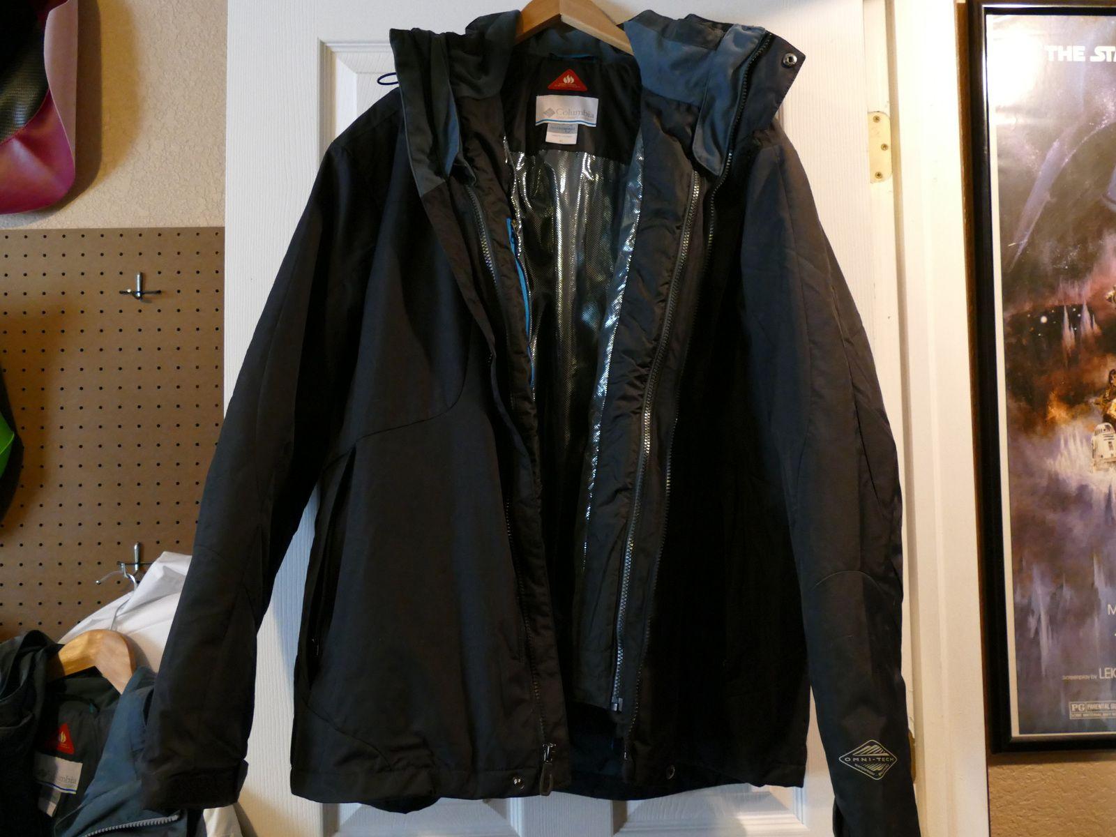 Columbia Sportswear Omni-Heat Hooded Jacket men's Black ...
