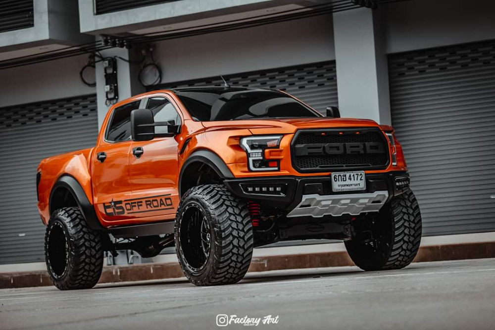 Thai Company Is Turning Ford Ranger Raptors Into F 150 Raptor