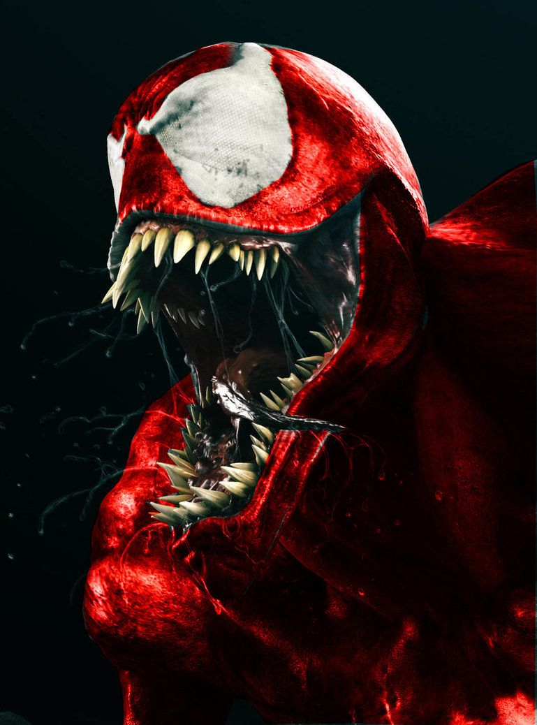 carnage  fan  art   carnage red all over  by  hellspawn1001   the   5   st u00c5r    u00c5ward   of    aw