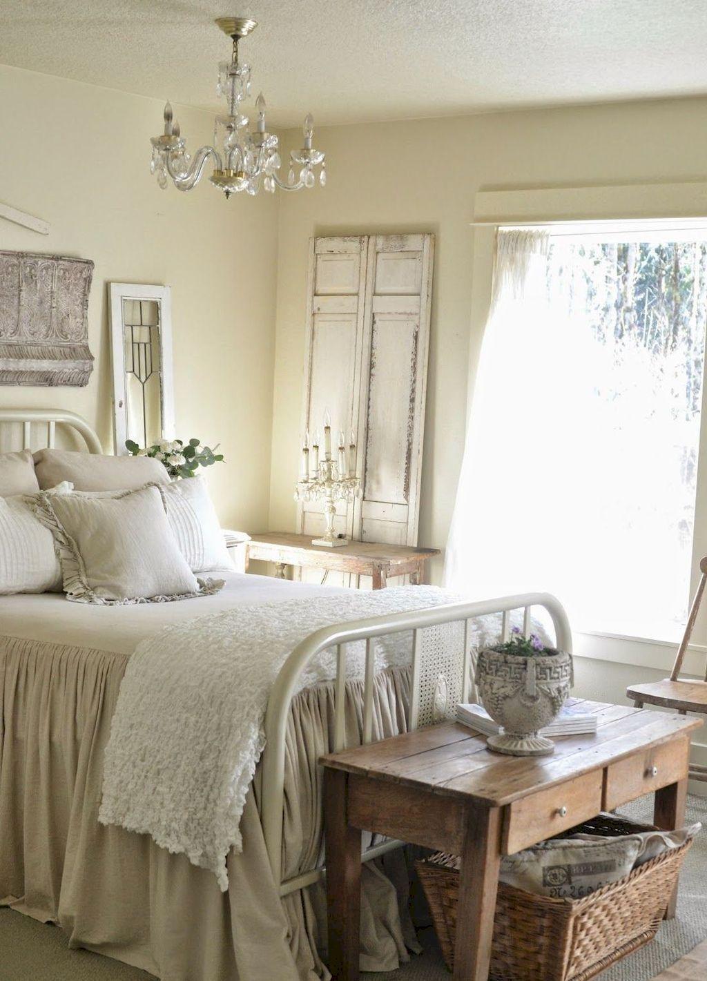 Adorable 70 Beautiful Farmhouse Master Bedroom Ideas
