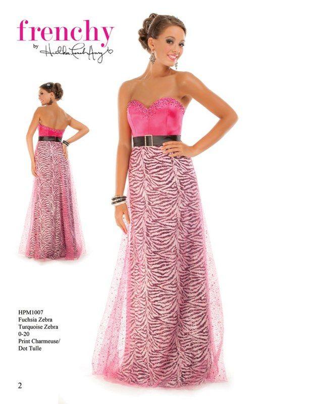 Zebra Prom Dress Dress Up Pinterest Prom Senior Prom And