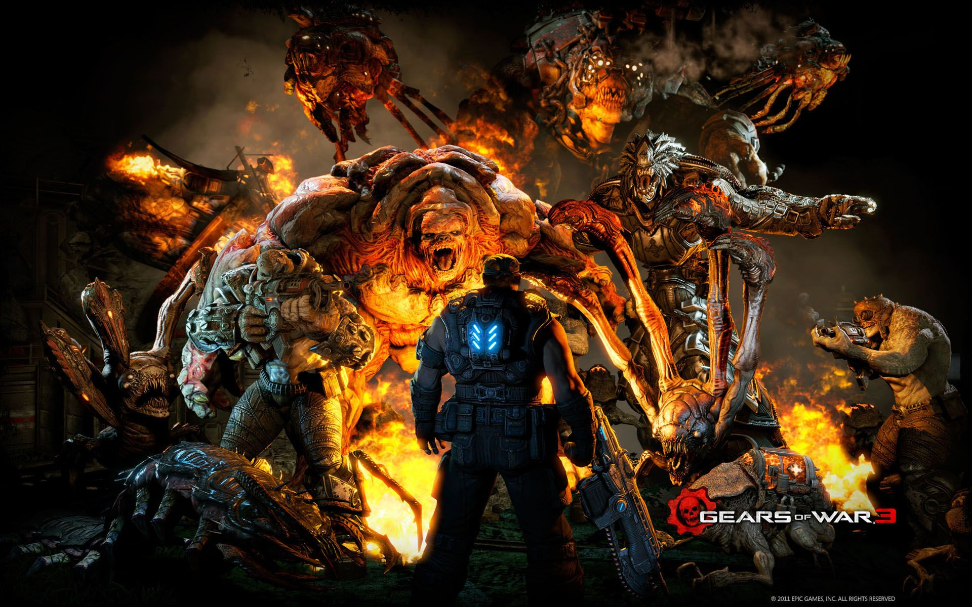 Gears Of War 3 Mission Wallpapers Hd With Images Gears Of War