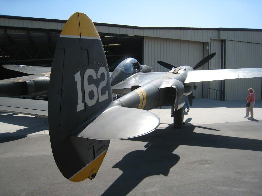 Luminox P-38 Lightning Quartz Movement Black Dial Mens