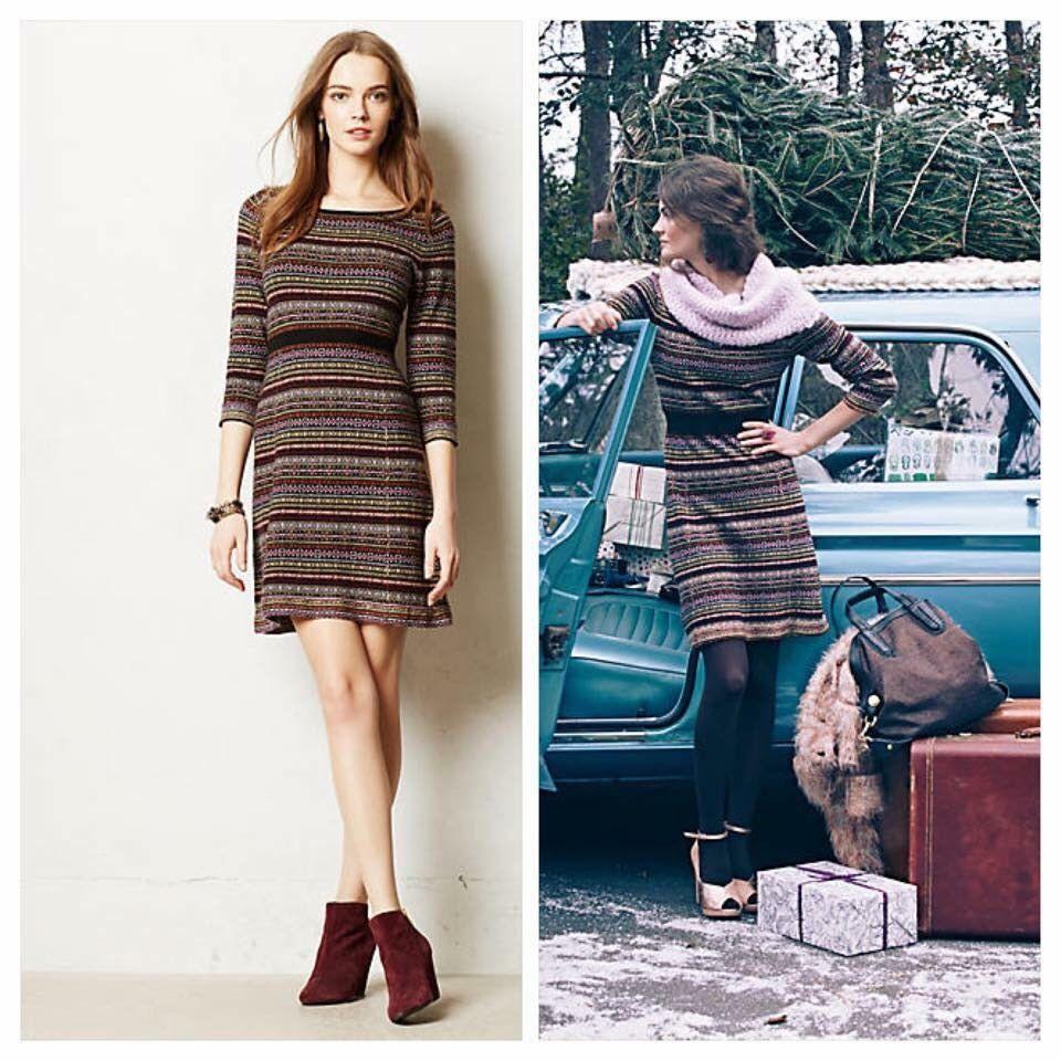 3e0c6b025af Anthropologie Clara Sweater Dress By Sparrow Sz M Medium  Anthropologie   SweaterDress