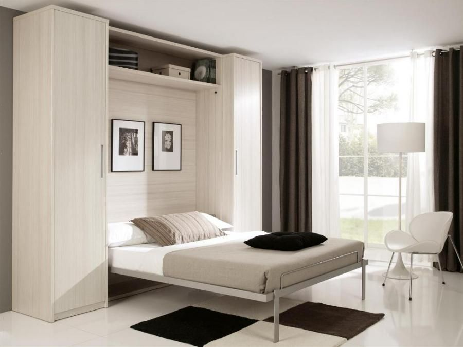 Best Fold Down King Size Wall Bed With Optional Wardrobes 400 x 300