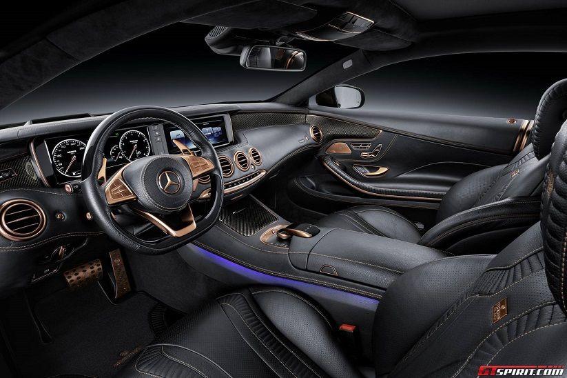 Brabus 850 Mercedes Benz S63 Amg Coupe Interior Mercedes S63