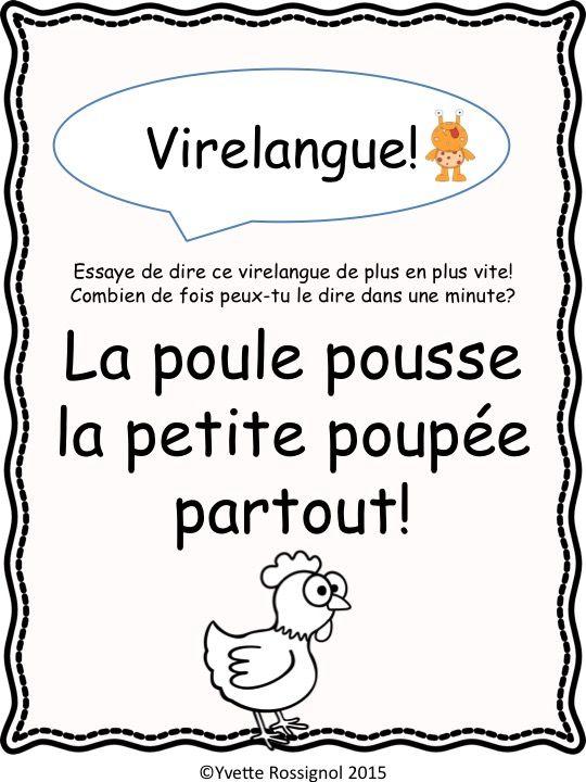 Comptine et activités pour le son OU en français I French