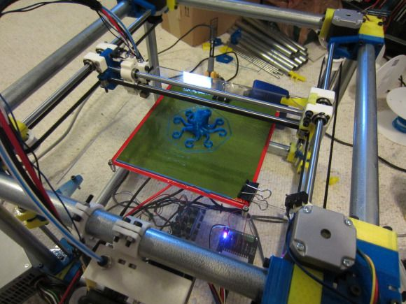 Using electrical conduit for a 3D printer frame