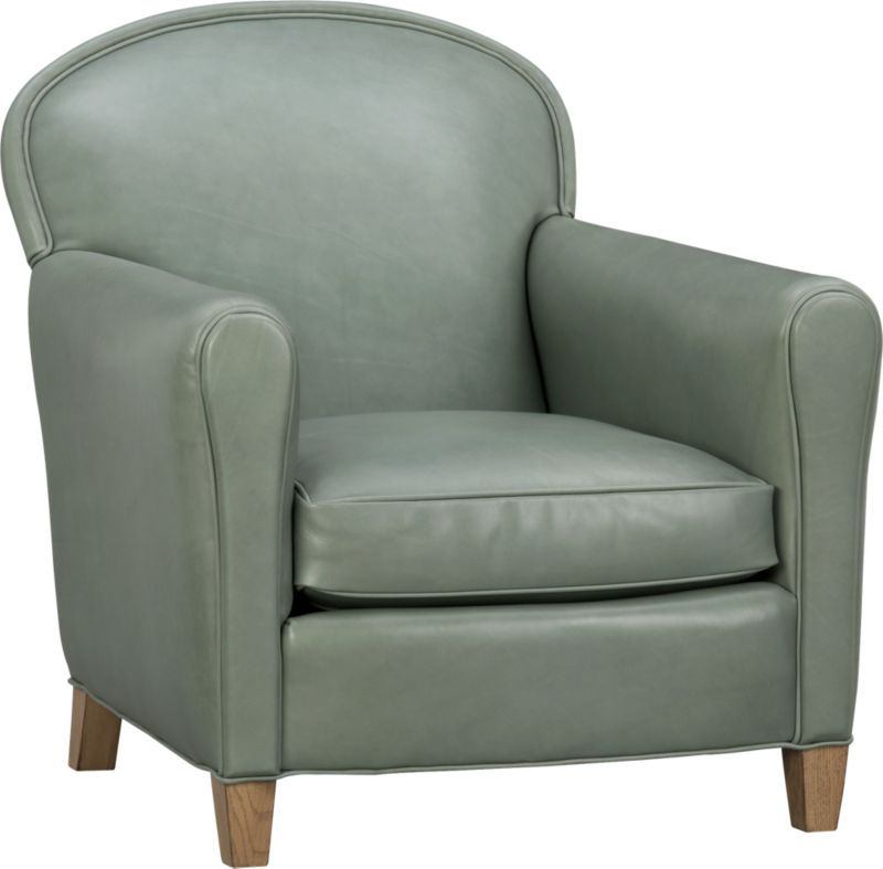 Best Eiffel Leather Chair Crate And Barrel Comes In Many 400 x 300