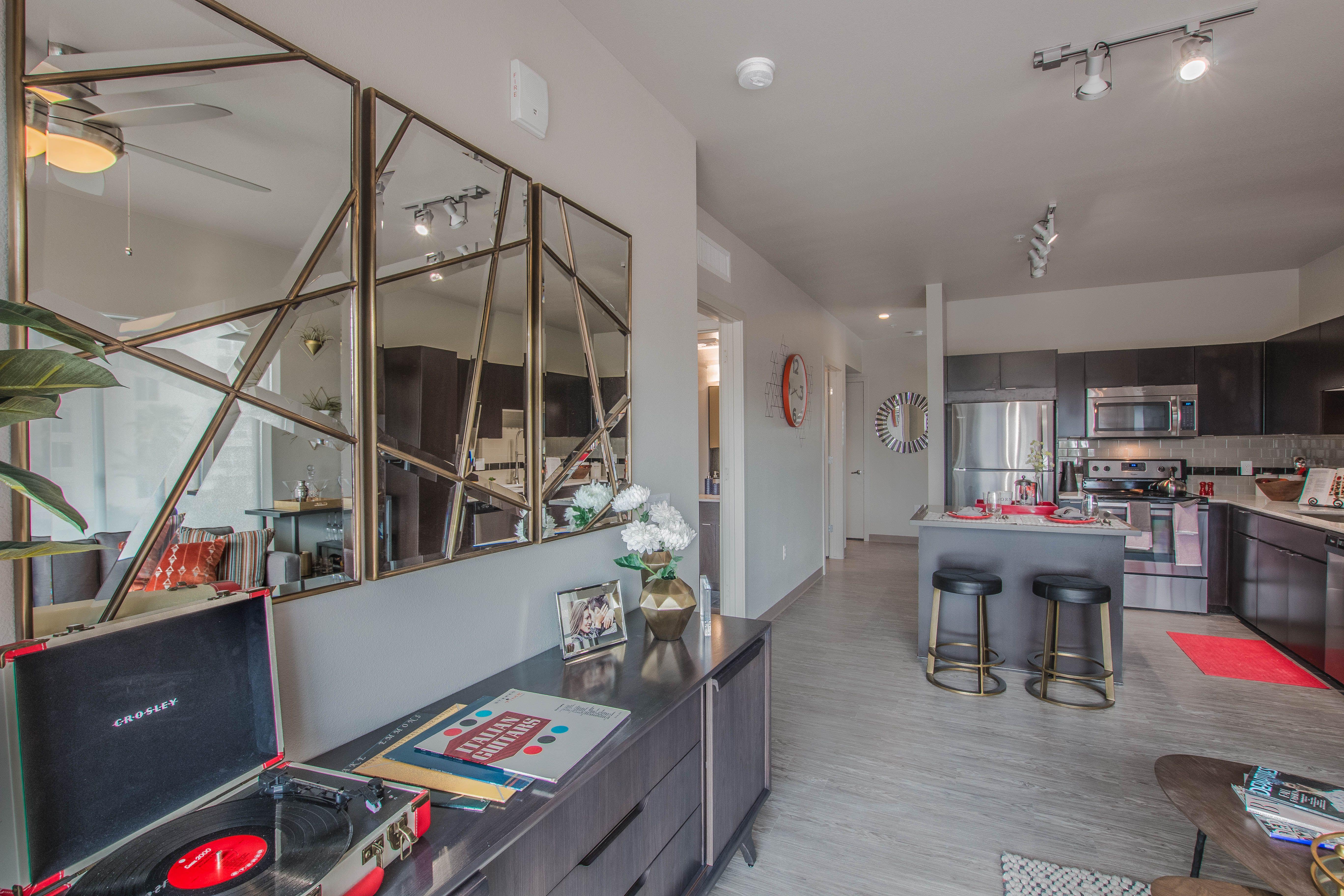 Proxy 333 Downtown Phoenix Az Living Room Design Mid Century