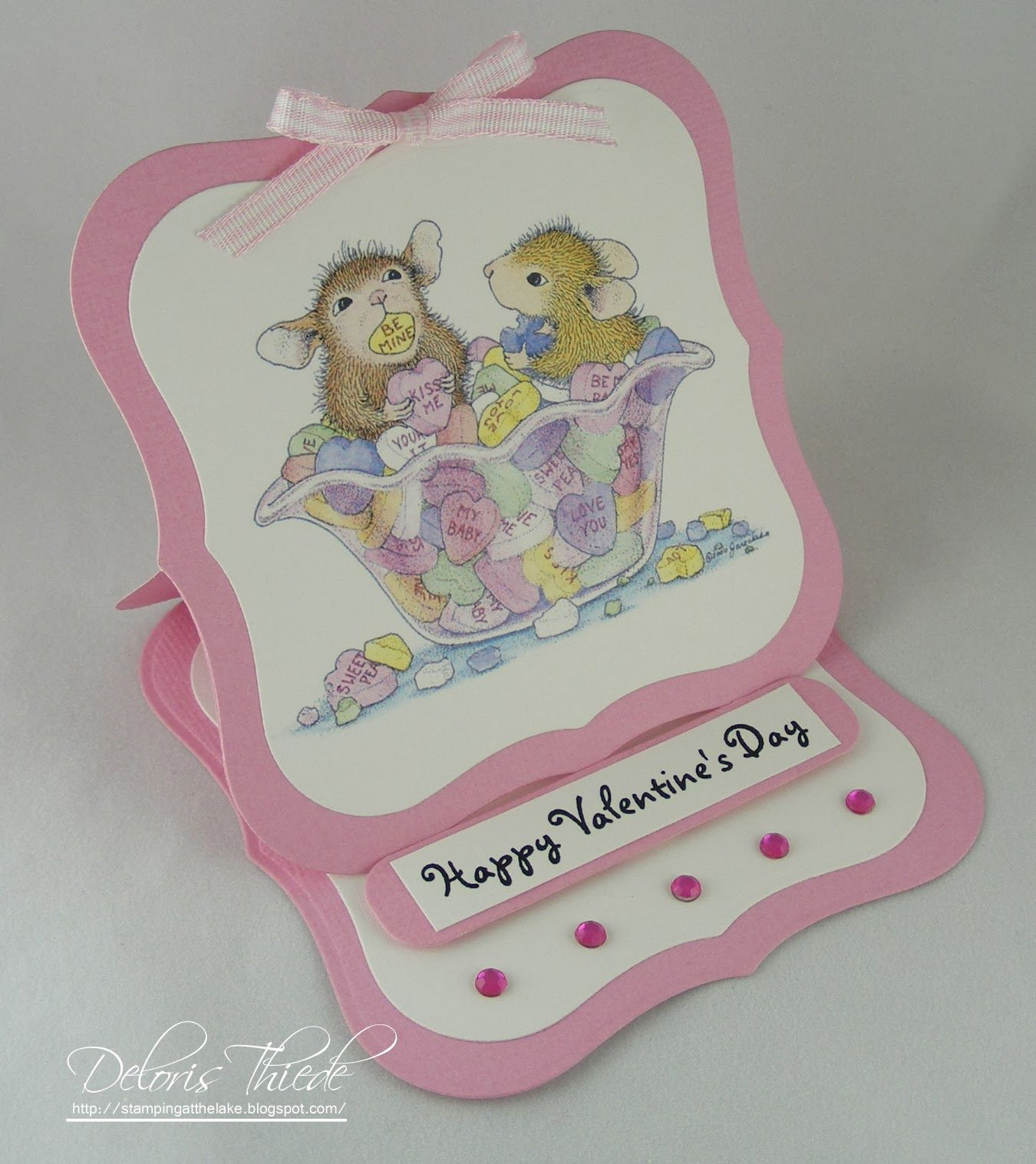 Stamping At The Lake: Valentine Easel Card