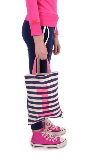 Tasje A4 pink Br@nd for girls summer 2016 www.brandforgirls.nl