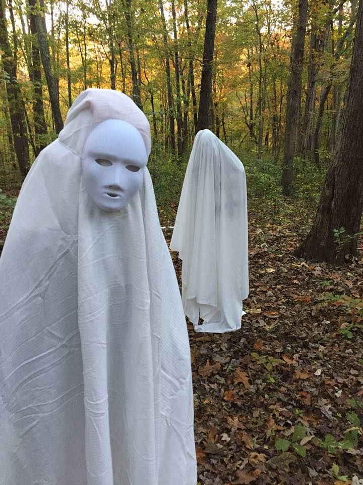 A Seance Gone Wrong - Home Haunt 2017   imgur/a/abX7B - haunted forest ideas for halloween