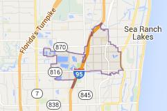 Map Of Oakland Park Fl Broward County Florida Map City Maps