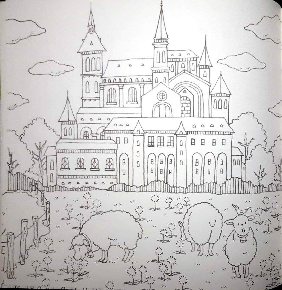 Romantic Country Tome 1 Coloring Books Coloring Pages Romantic Country