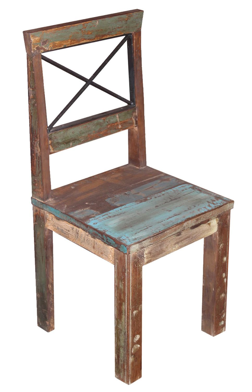 Distressed paint finish dining chair. £99.99 http://www ...