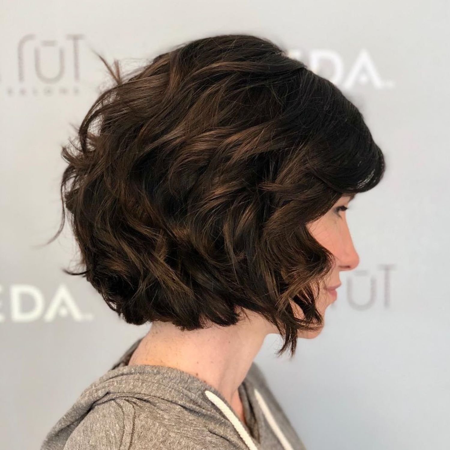60 Most Magnetizing Hairstyles For Thick Wavy Hair Thick Wavy Hair Short Thick Wavy Hair Chin Length Hair
