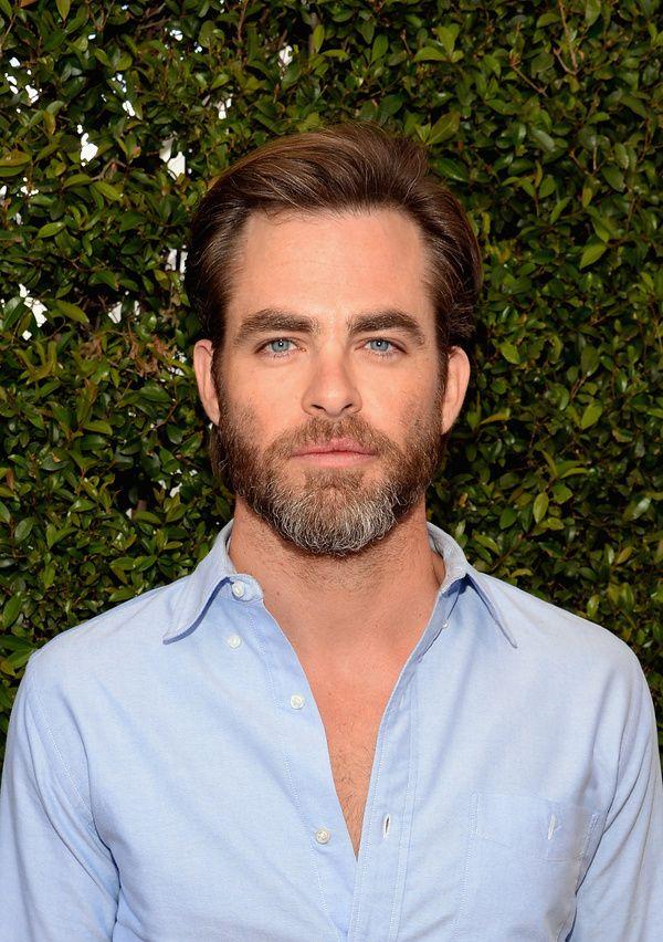 La barbe de Chris Pine
