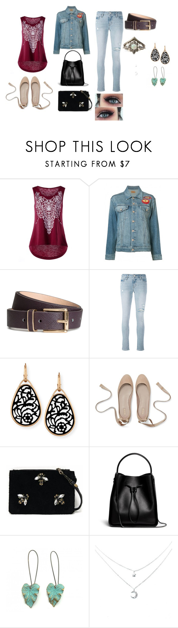 BBQ by loglady02 on Polyvore featuring moda, Mother, Levi's, Angela Valentine Handbags, 3.1 Phillip Lim, Zara Taylor and Pomellato