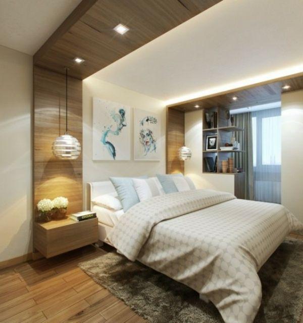 Kleines Schlafzimmer modern gestalten - Designer Lösungen idea - schlafzimmer modern bilder