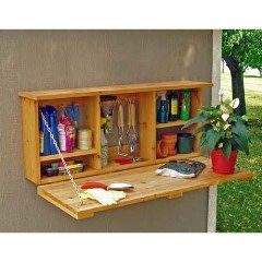 Garden tool storage box. Surely thereu0027s a way to build this for less.  sc 1 st  Pinterest & Garden tool storage box. Surely thereu0027s a way to build this for less ...