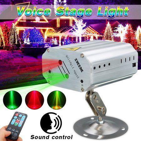 LED Laser LICHT Projector für DJ Disco Bar Stage Party Lighting mini A