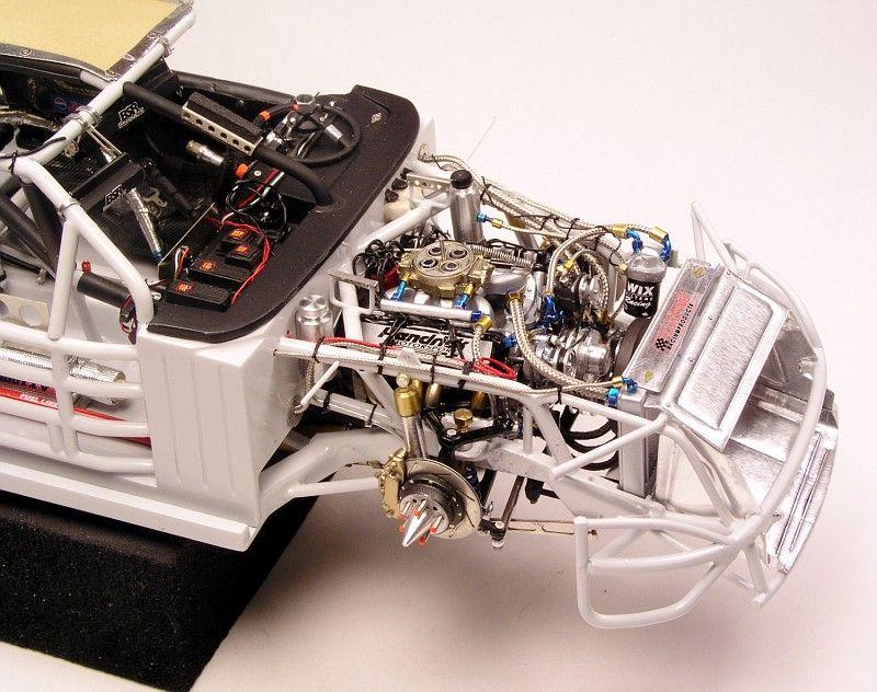 Nascar engine details. Car & Truck Scale Models
