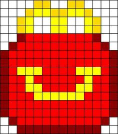Pixel Art Facile Mcdonald S