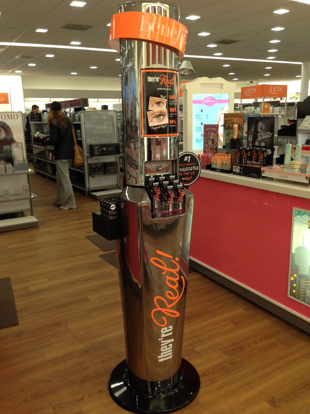 Mascara endcap at Ulta. Jan 2014. (With images) Cosmetic